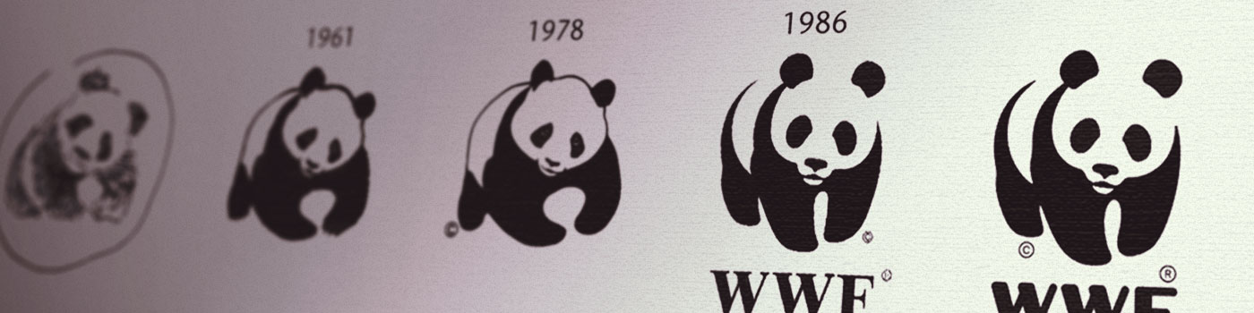 WWF logo evolution © WWF International