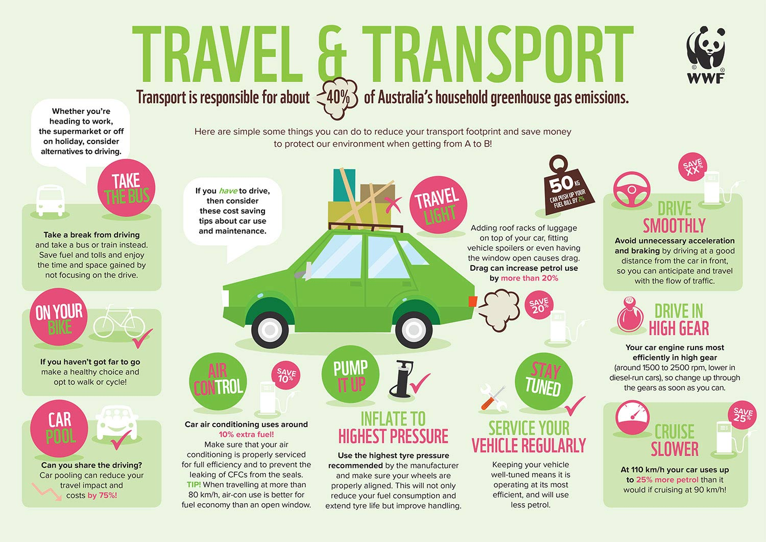 Travel and Transport Infographic