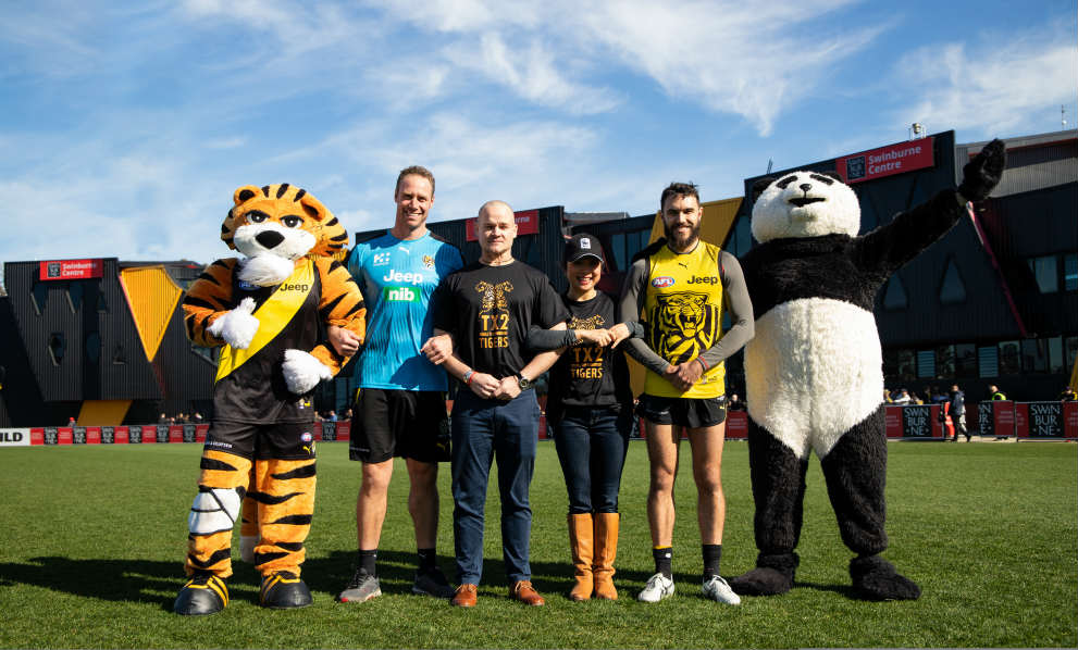 Richmond Tigers Football Club Partnership Launch 2018 © Richmond Football Club