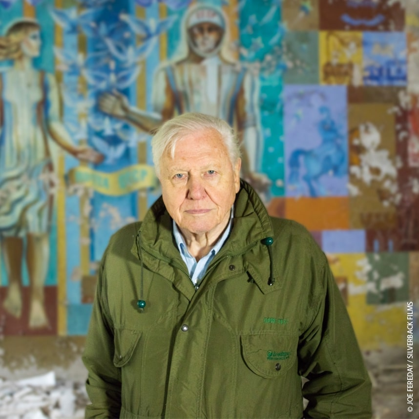 Sir David Attenborough © Joe Fereday/Siliverback Films
