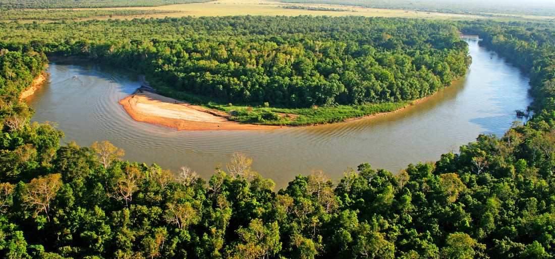 The Daly river is part of the Daly catchment that flows from Northern Territory to central Northern Territory - © Julian Murphy / WWF-Aus