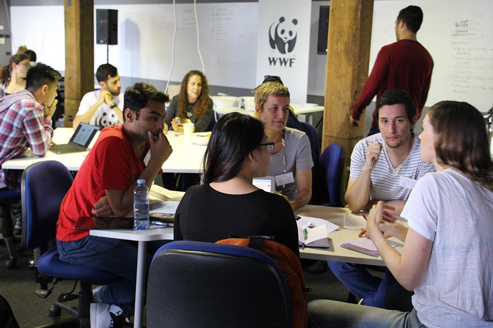 WWF Sustainable Development Goals Designathon © WWF-Aus / Candice Marshall