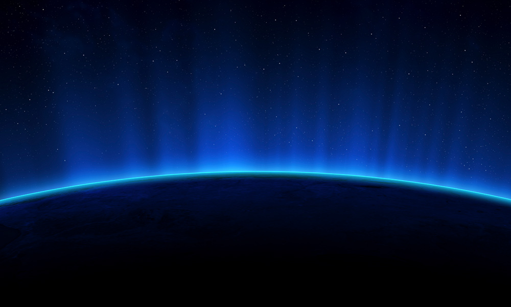 Earth Hour blue planet © Earth Hour Global