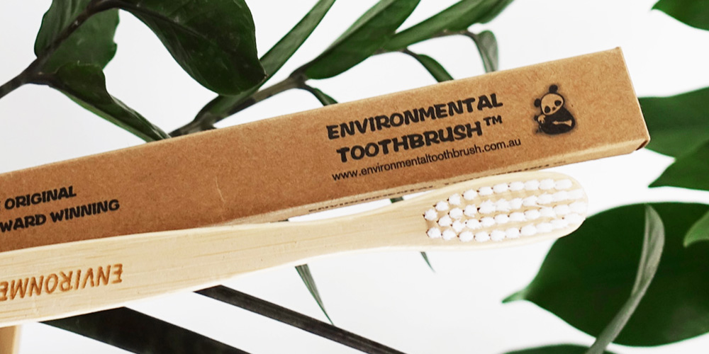 Environmental bamboo toothbrush © WWF-Aus / Leonie Sii
