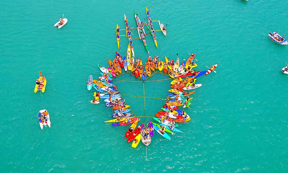 Flotilla for the Reef, Airlie Beach, October 2015 © Vanessa Dale