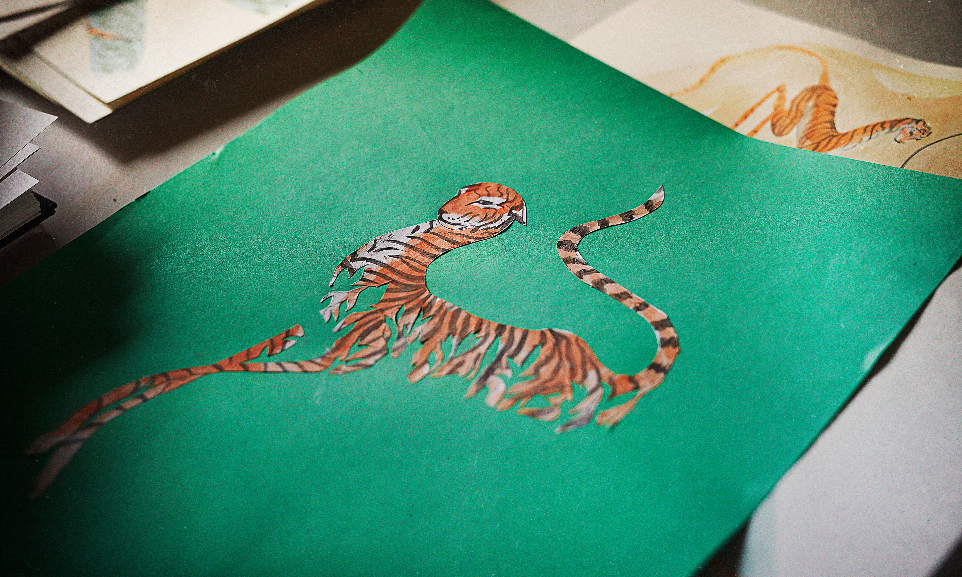 Nameless, Rare Stripes Collection by Meryl Smith © Tiger Beer