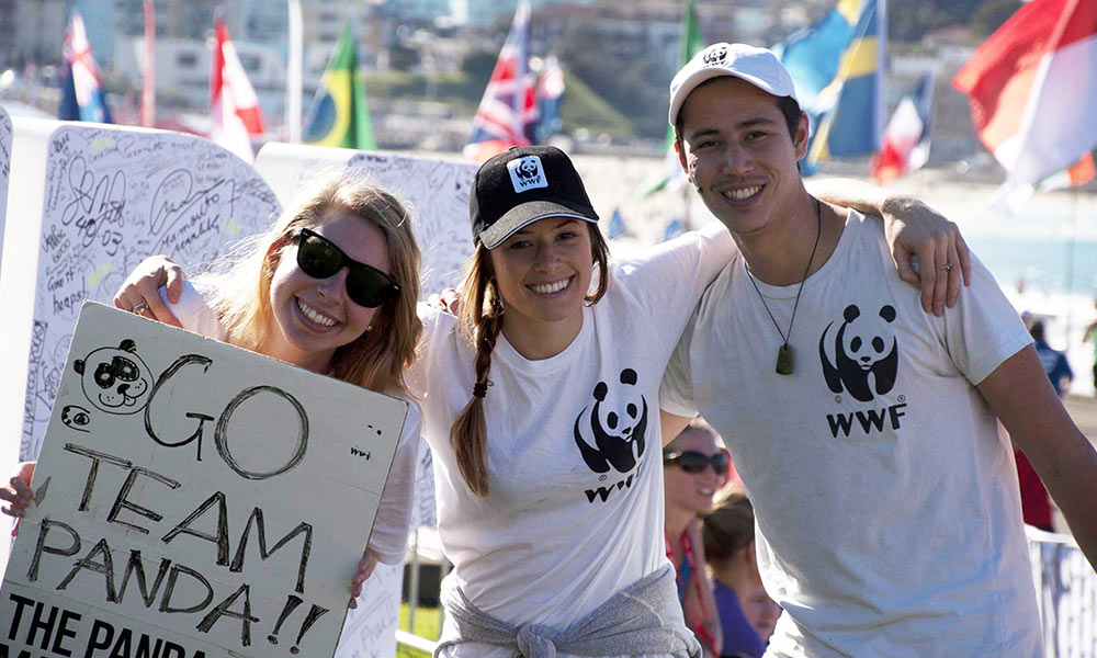 Panda team at City2Surf ©  WWF-Aus / Mihira Bodaragama