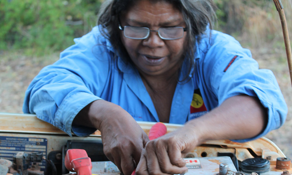 Debbie Sibosado is the ranger coordinator for the Bardi Jawi Oorany Rangers © Kimberley Land Council