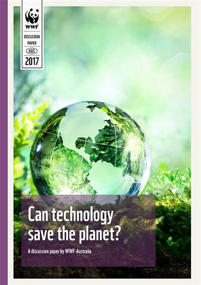Can technology save the planet? (report cover)
