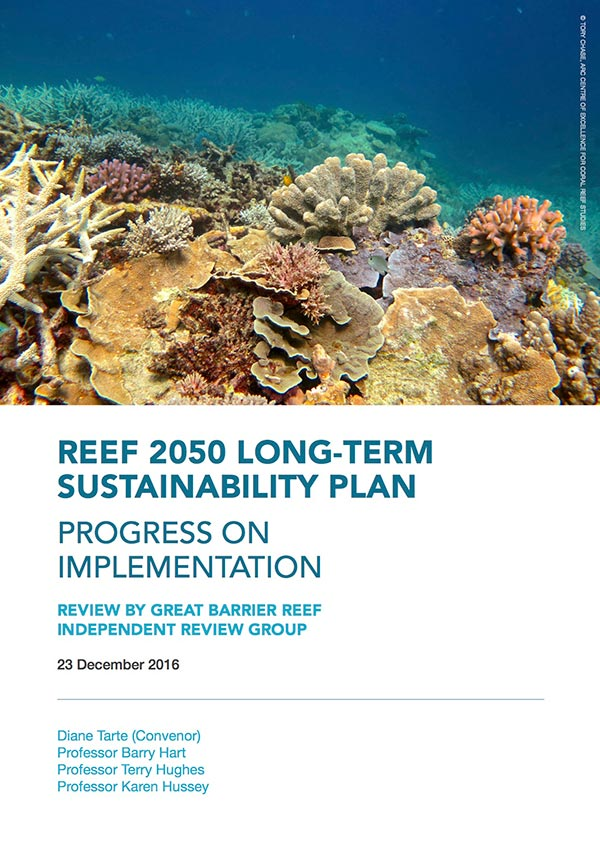 Reef 2050 Long-term sustainability plan progress on implementation report
