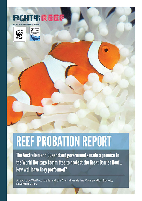 Reef probation report (publication cover page)