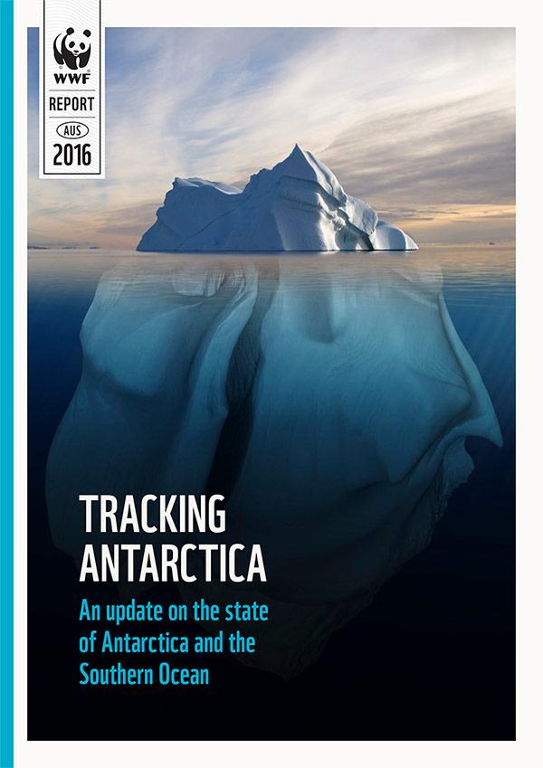 Tracking Antarctica cover page