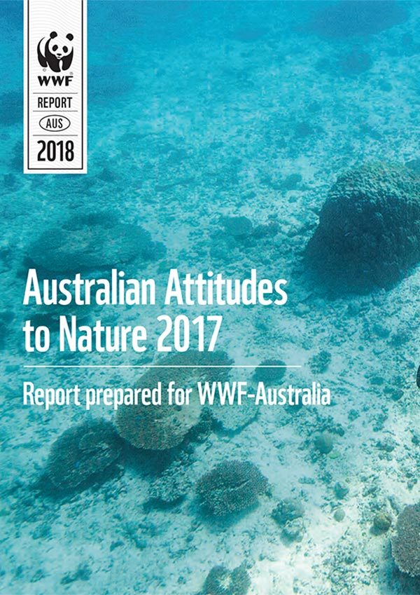 Cover page of Backyard Barometer: Australian Attitudes to Nature 2017 (large thumb)