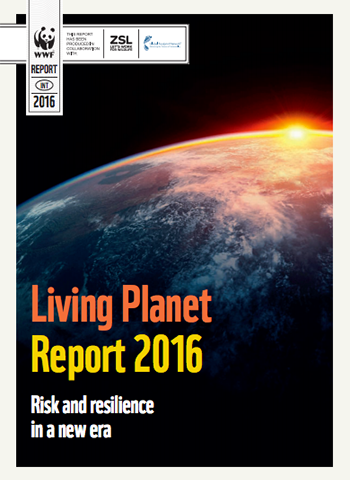 Living Planet Report 2016 (Cover page)